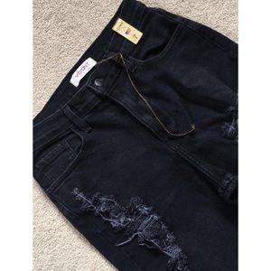 Boutique Jeans - ➳ Boutique Distressed Mom/Boyfriend Jeans